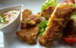 Fischstäbchen mit Chiliremoulade